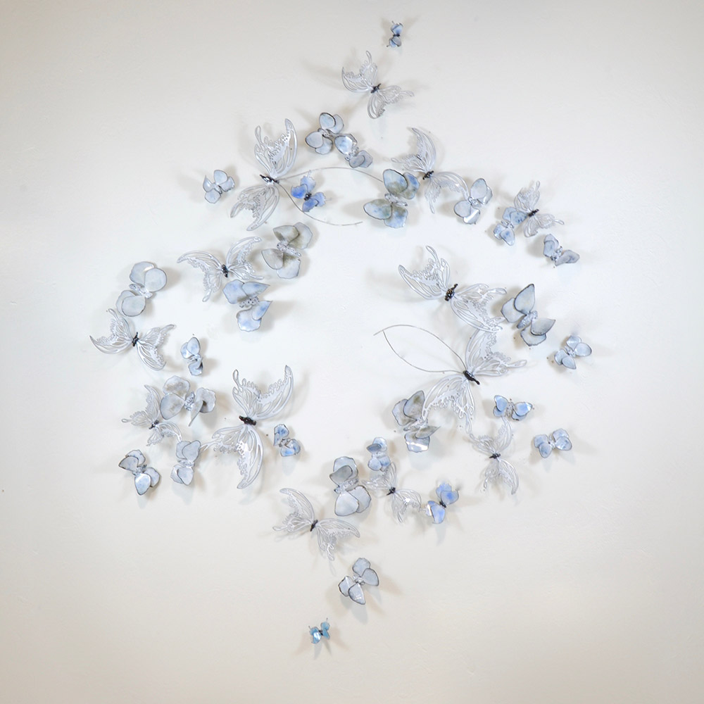 Diamond Butterflies Kaleidoscope - artists Christie Hackler