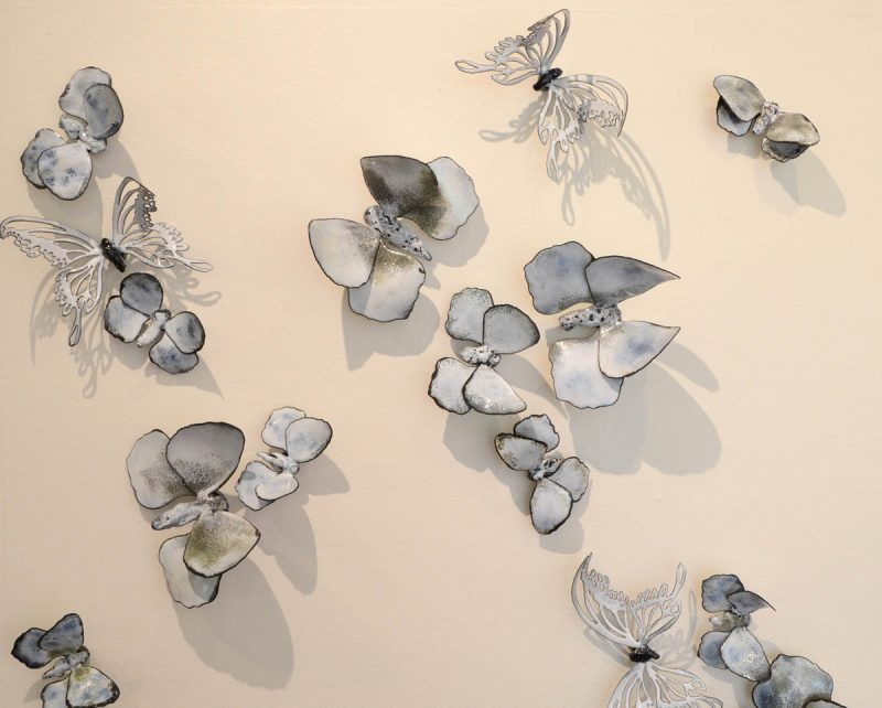 MOREY Butterfly Installation view Christie Hackler