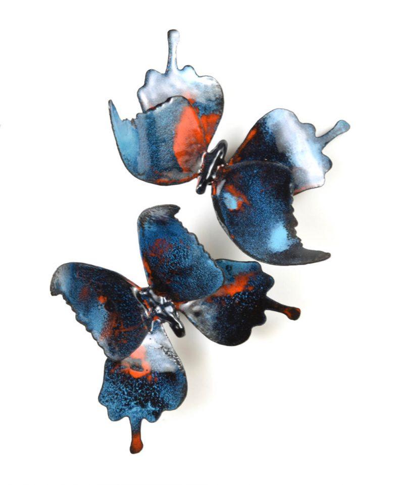 Thomas Butterflies Color Turquoise - Christie Hackler