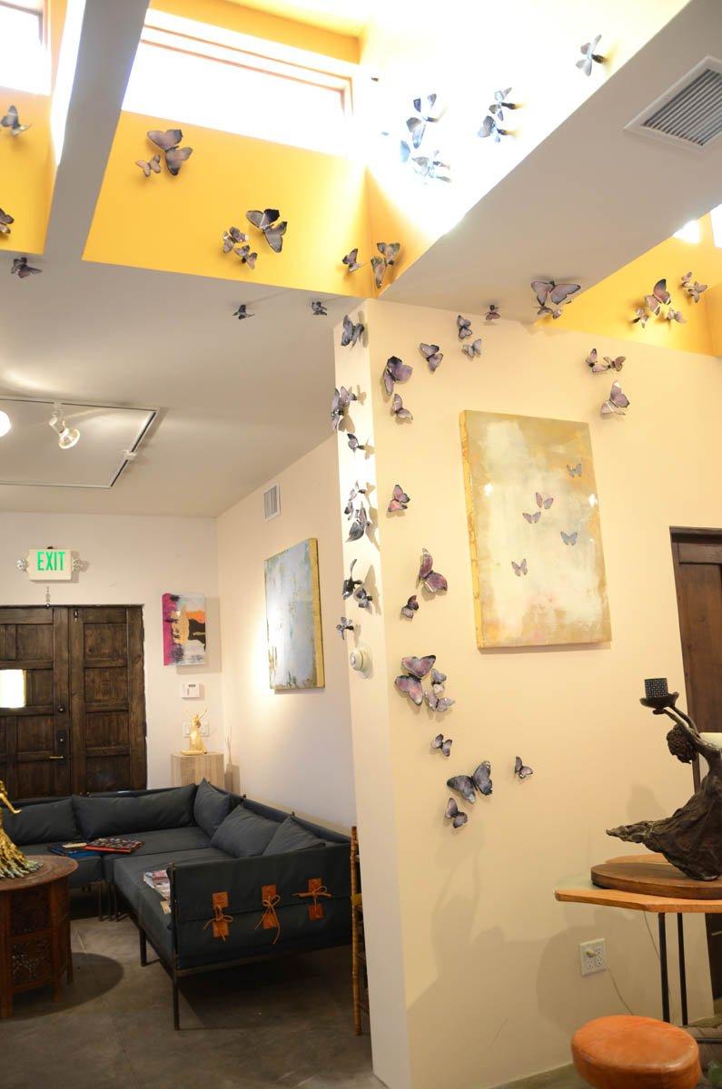 emBARK Butterfly - Kaleidoscope install 2 - Christie Hackler