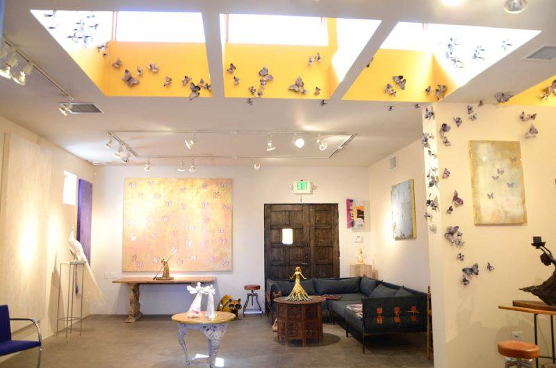 emBARK Butterfly - Kaleidoscope install 3 - Christie Hackler